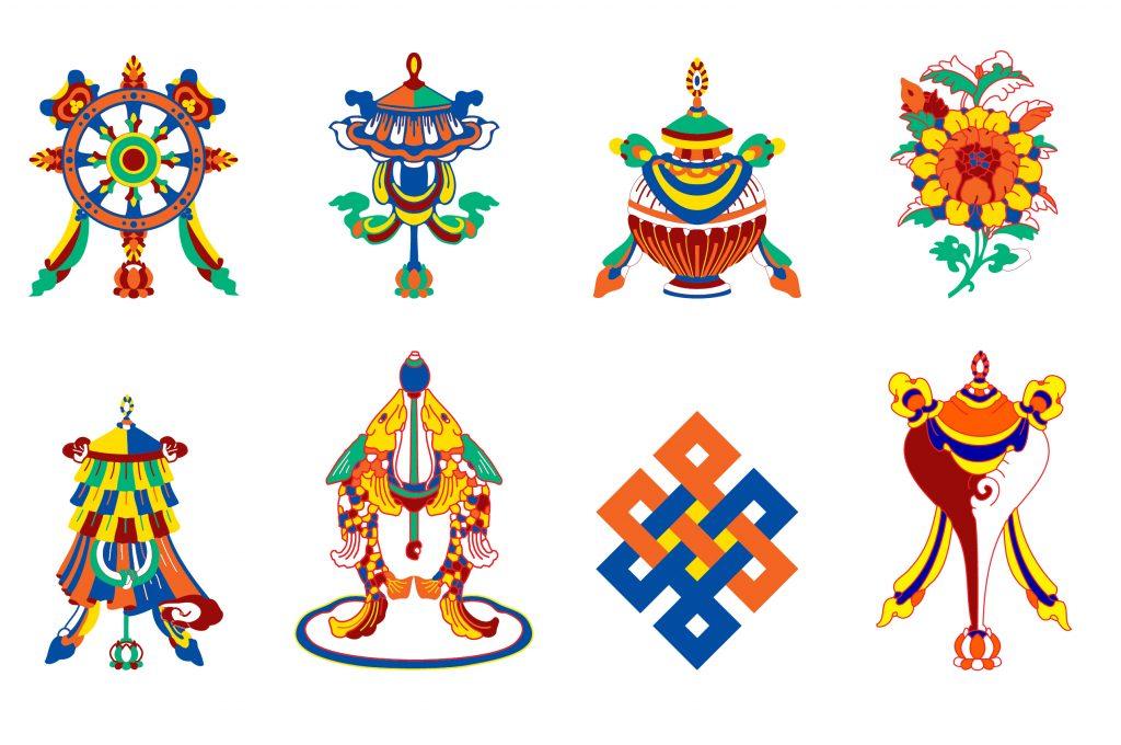 8 simbolos auspiciosos budistas