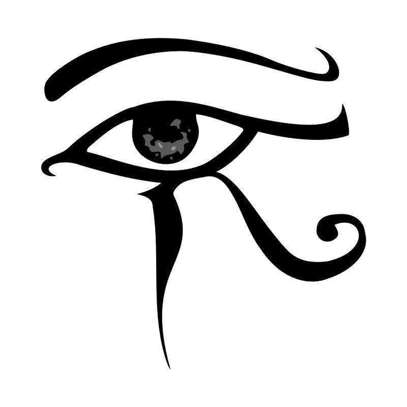 el ojo de horus egipcio