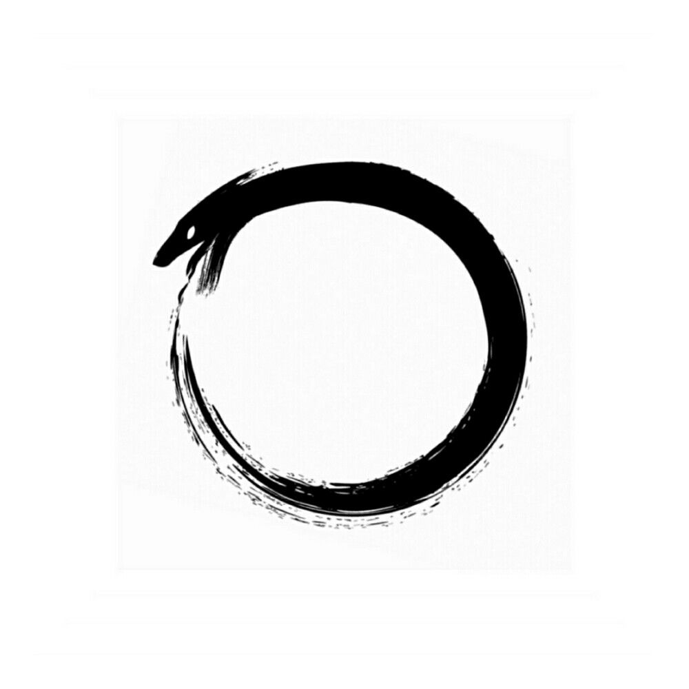 símbolo de uroboros - infinito